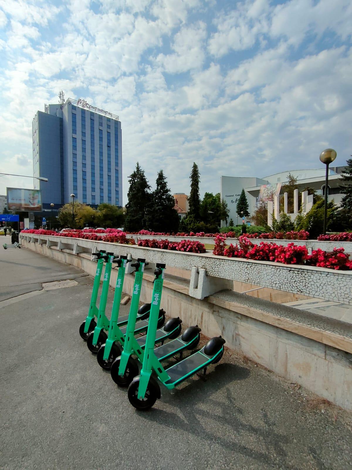 Lansarea unui nou  serviciu de închiriere trotinete electrice în Sibiu