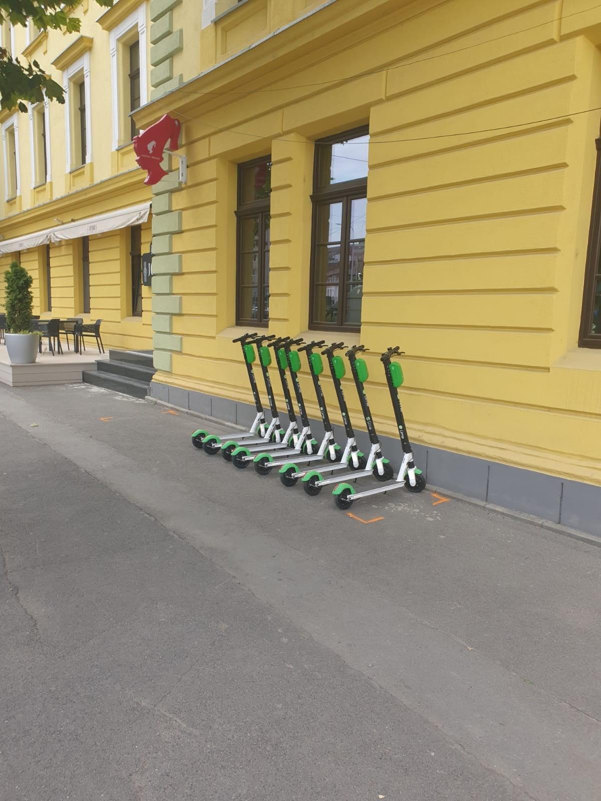 Lansare serviciu de închiriere trotinete electrice în Sibiu