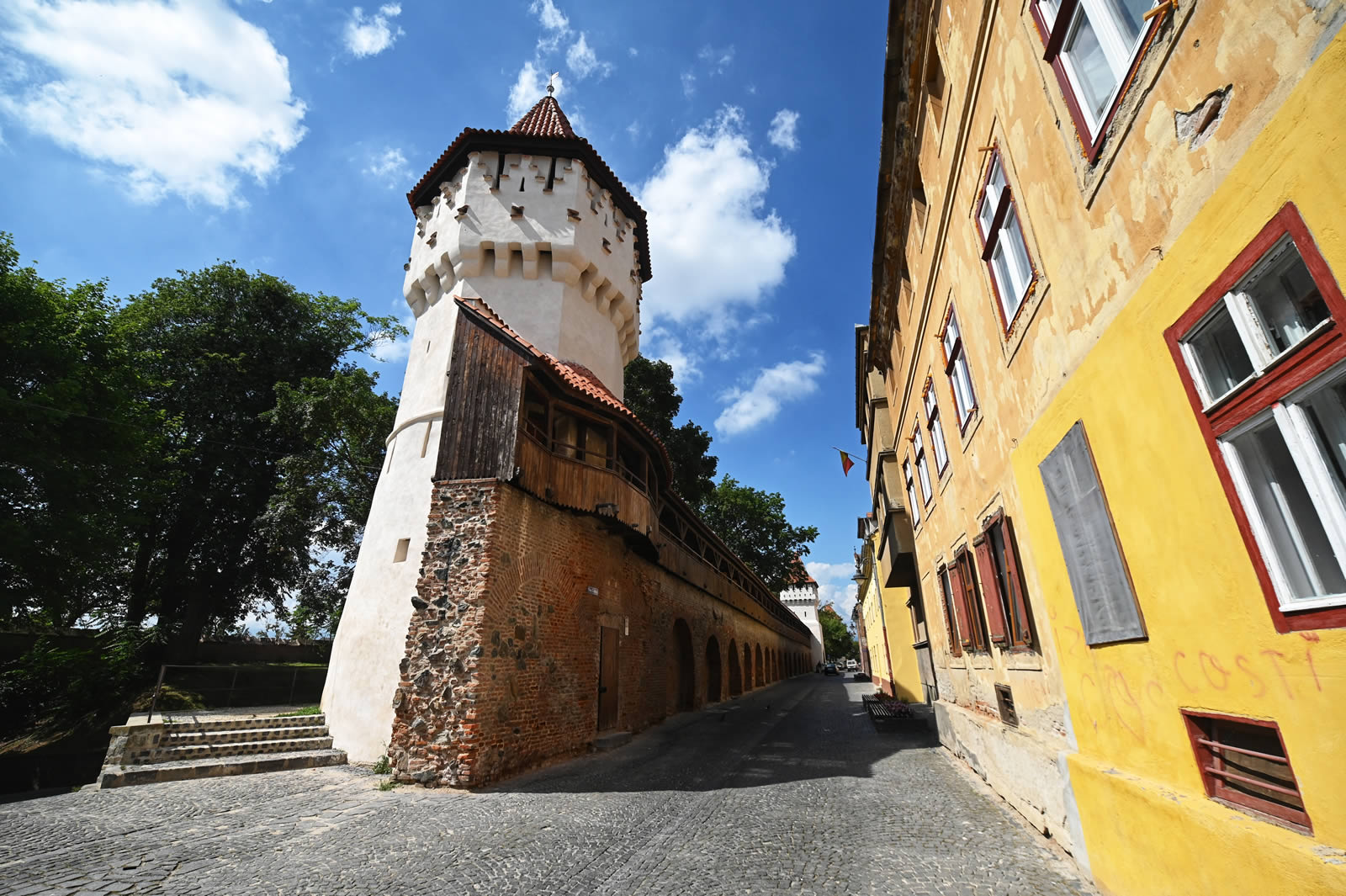 Primăria Sibiu se alătură programului național Noaptea Muzeelor  cu turnurile de pe str. Cetății și Turnul Sfatului