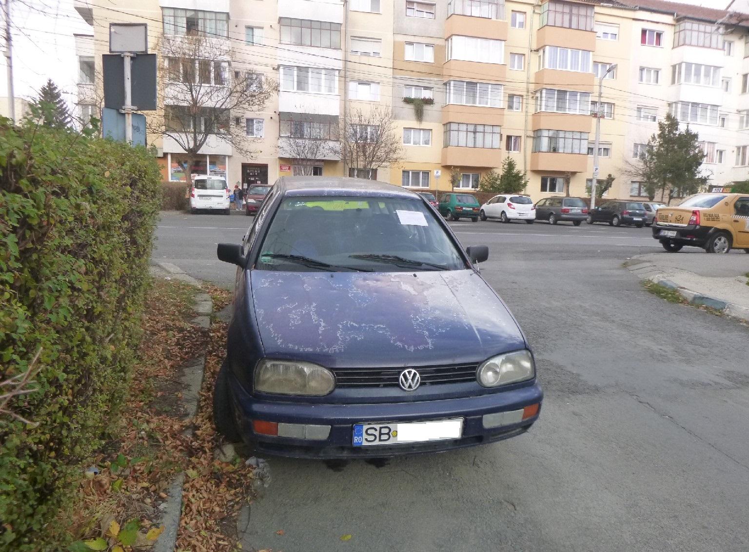 Primăria Sibiu continuă să elibereze domeniul public de autovehiculele abandonate