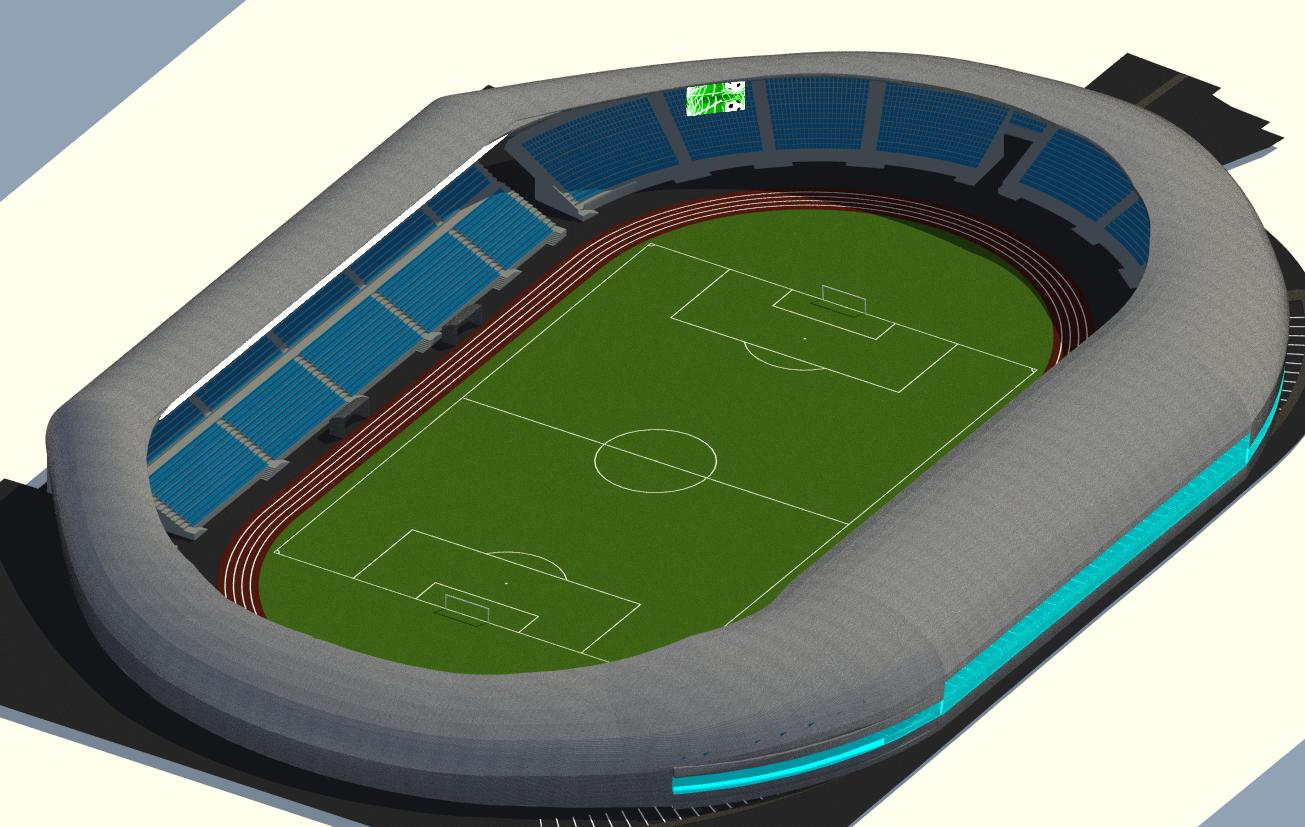 Primăria Sibiu continuă modernizarea Stadionului Municipal cu etapa II