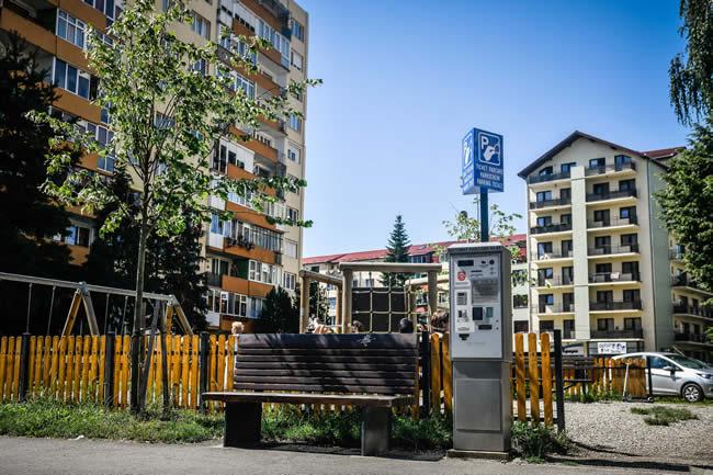 Încă cinci automate de parcare au fost instalate în oraș