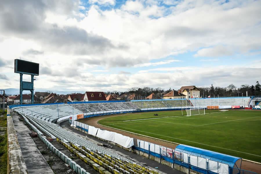 S-a semnat contractul pentru prima etapă a modernizării Stadionului Municipal Sibiu