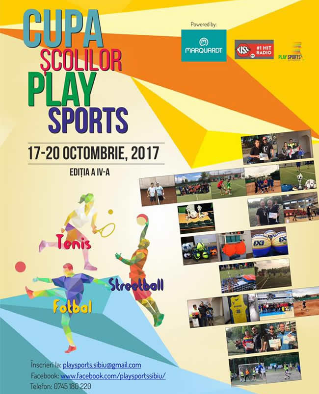 Cupa Scolilor - Be cool play sports