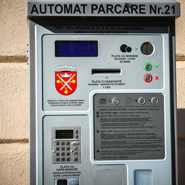 Se înființează noi parcări cu plată în oraș; 15 automate de plată le vor deservi